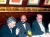 Acto 15. Feliciano Llanas, presidente de la Asociación, presentando el acto
