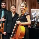 Acto 103. Concierto de violín, violoncello y piano por Trio Salduie